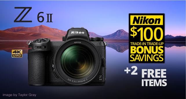 Nikon Z6 II with Free Items and TITU Savings