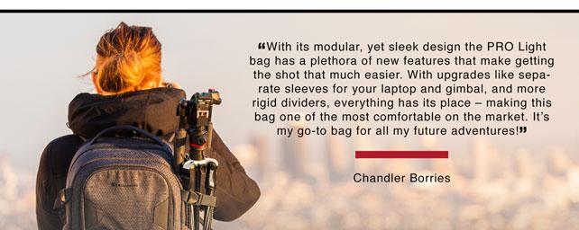Chandler Borries Quote