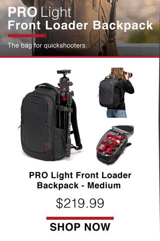 Pro Light Front Loader Backpack