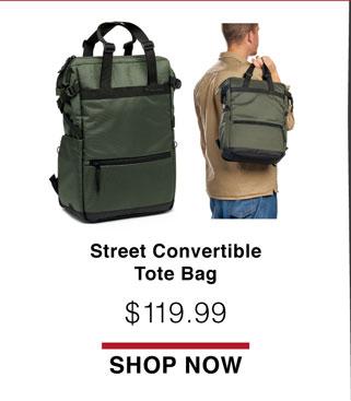 Street Convertible Tote Bag