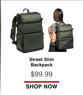 Street Slim Backpack
