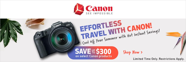 Canon Summer Savings!
