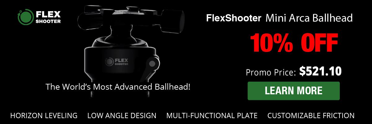 FlexShooter Mini Arca Ballhead