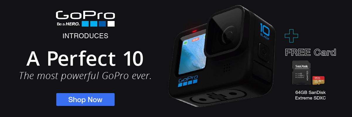 New GoPro Hero 10