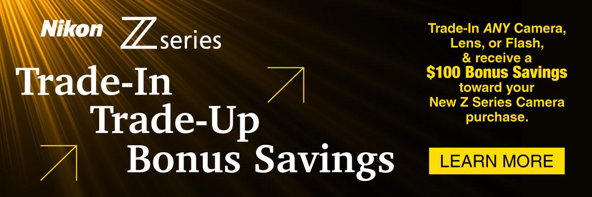 New Trade-In Savings from Nikon