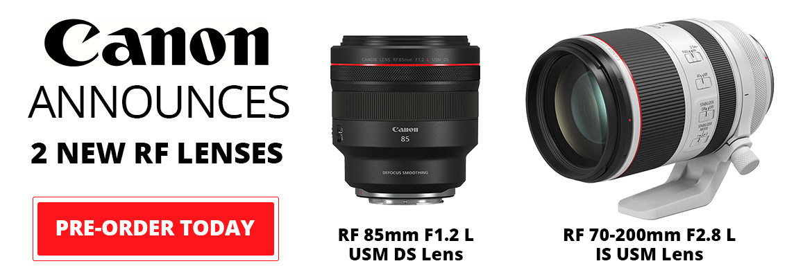 Canon Announces 2 New RF Lenses!