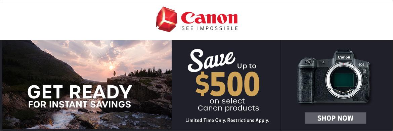 Canon April Savings!