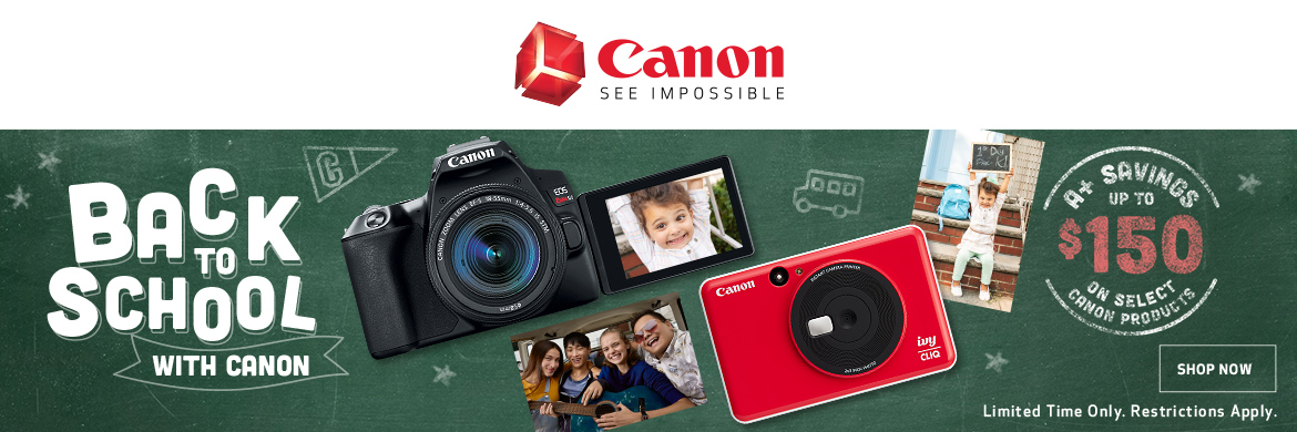 Canon Back to School!