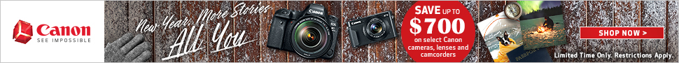 Canon Winter Savings