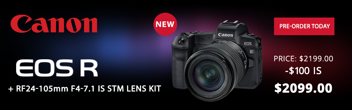 New From Canon!