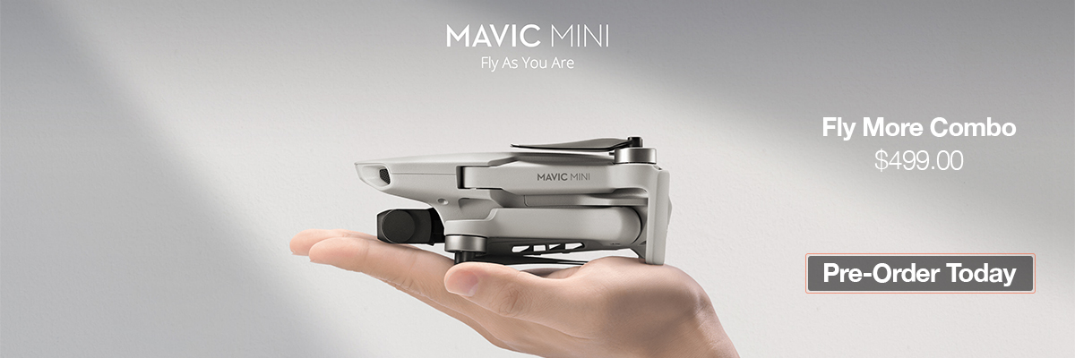 DJI Announces the Mavic Mini Fly More Combo