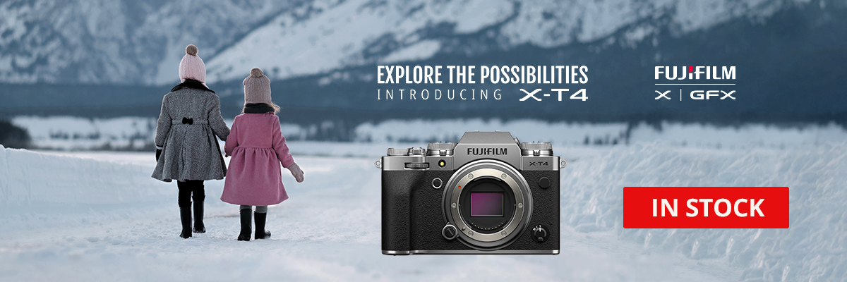 Pre-Order the New Fuji X-T4 Today