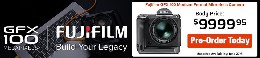 New Fujifilm GFX100!