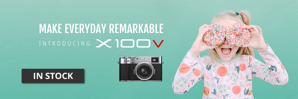 Fujifilm X100V Available for Pre-Order Today!