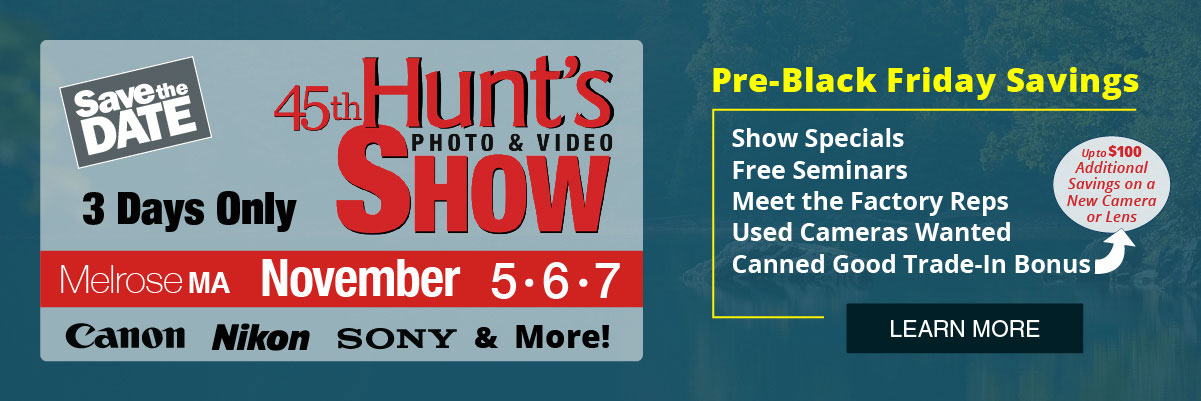 Hunt's Show - Save the Date