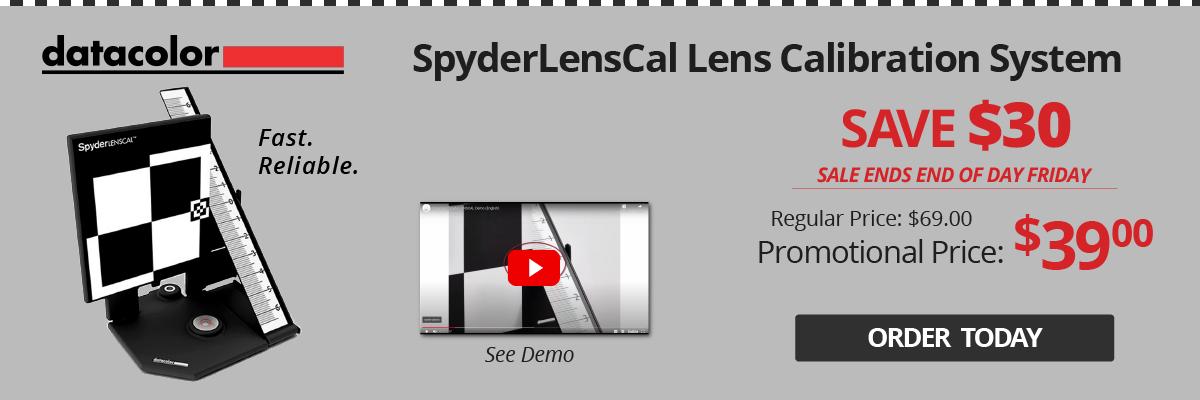 Datacolor Lens Calibration