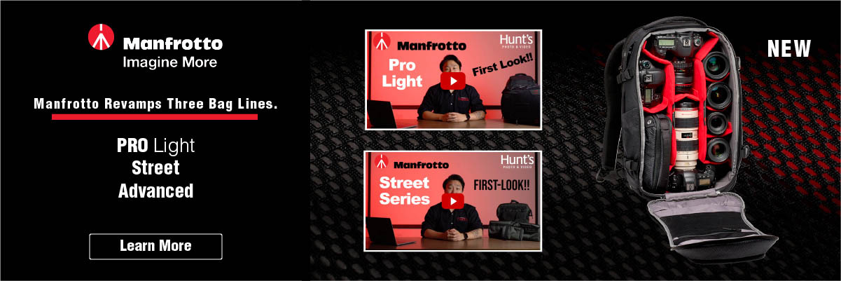 Manfrotto Revamps 3 Lines