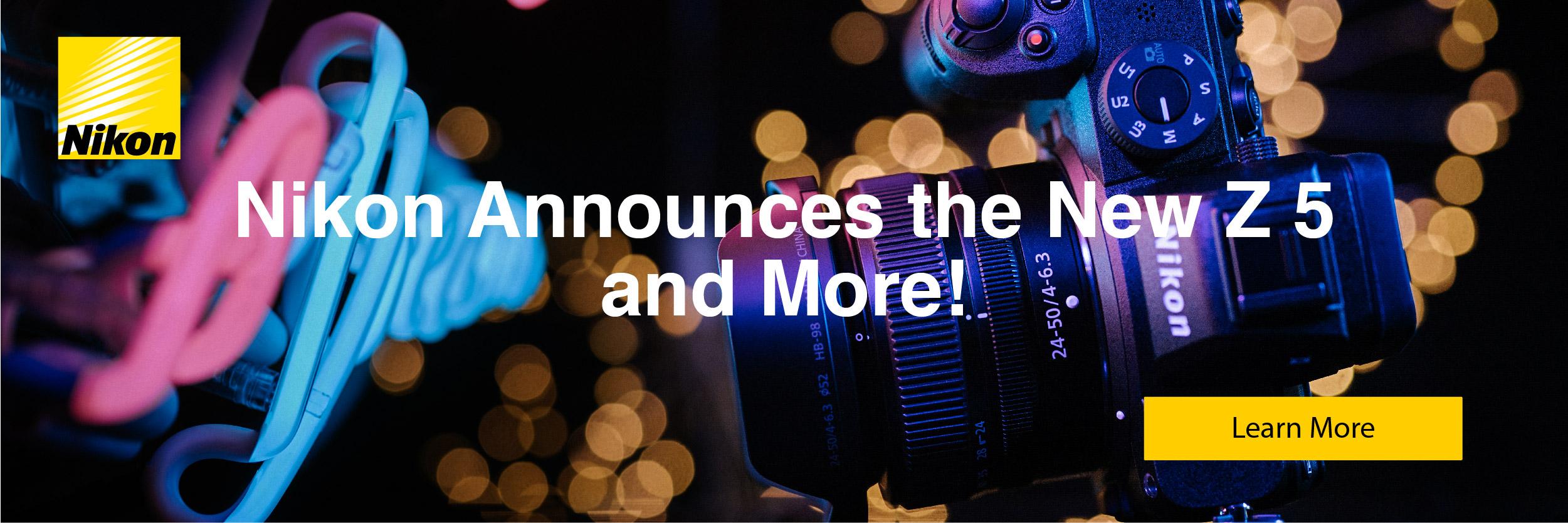 Nikon Announcements!