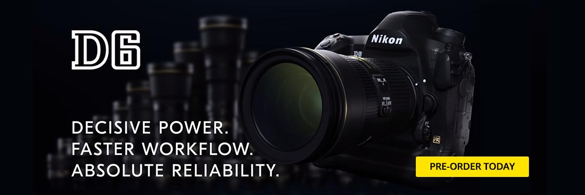 Nikon D6 Announced!