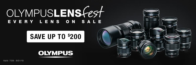Olympus Lenses on Sale!
