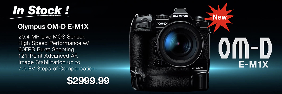 Olympus Announces the New OM-D E-M1X Available for Pre-Order