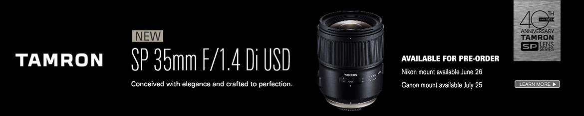 Tamron 35mm f/1.4 Pre-Order Today