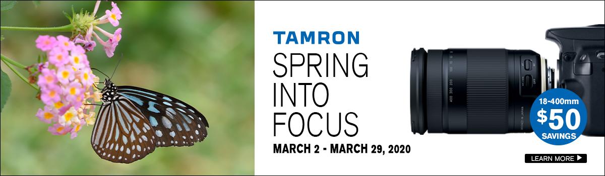Tamron March Savings