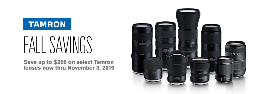Tamron Flash Sale!