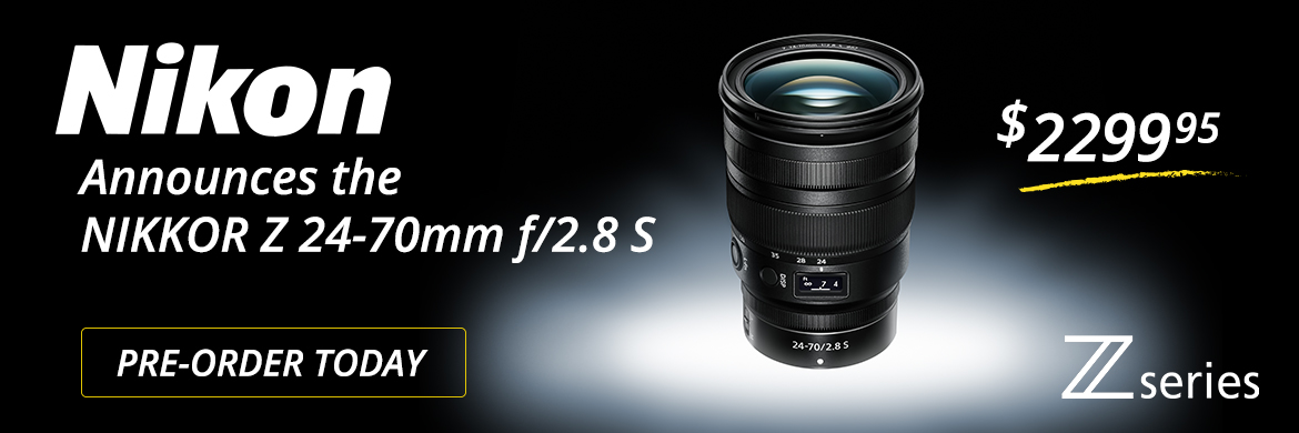 New Nikon NIKKOR Z Series 24-70mm f/2.8