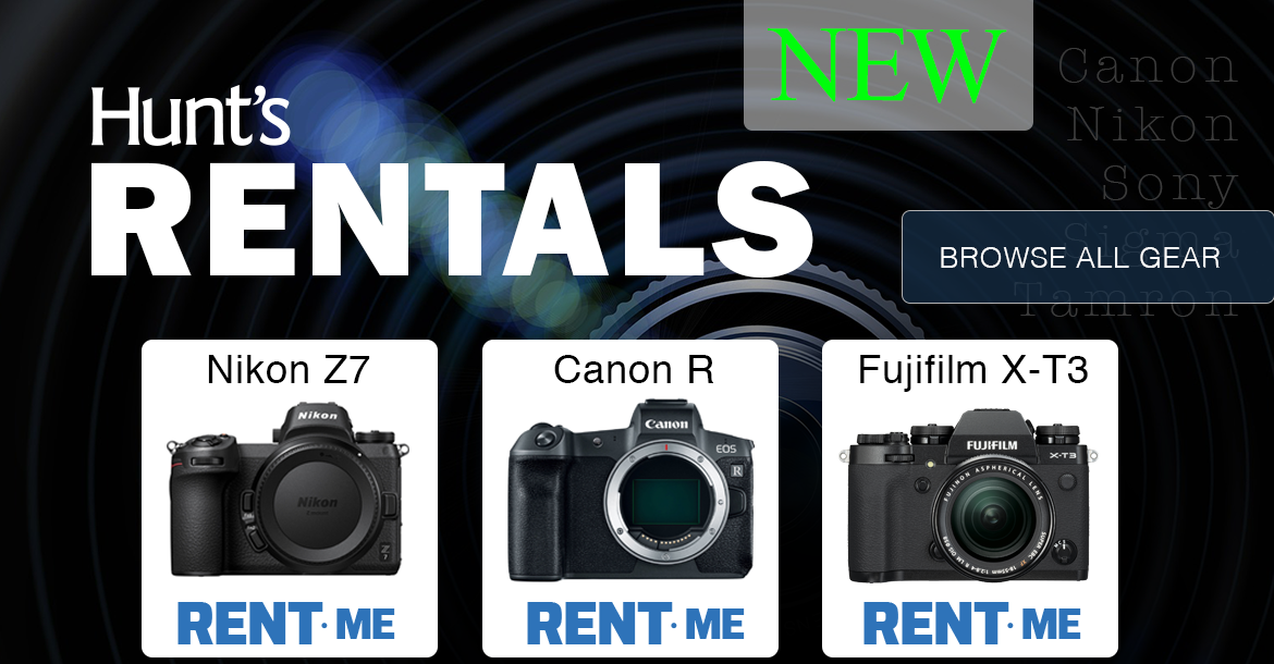 Hunt's Rental Department is Now Open.